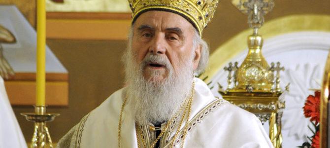 Патријарх Иринеј на Ђурђевдан у храму св. Георгија на Бановом Брду