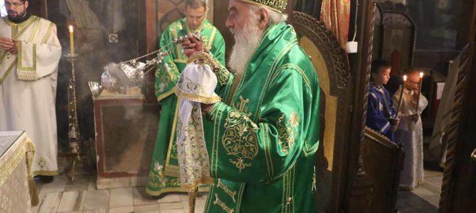 Патријарх предводио прославу славе Вождовачког храма