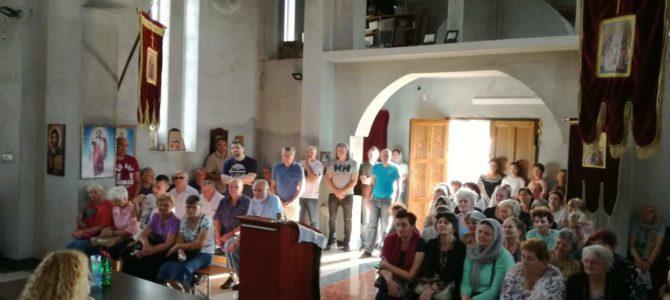 Одржано предавање о Св. Нектарију Егинском и Старцу Нектарију Виталису