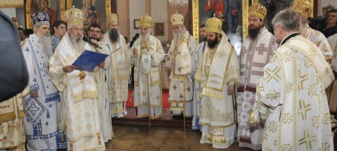 Хиротонија и устоличење Епископа осечкопољског и барањског г. Херувима