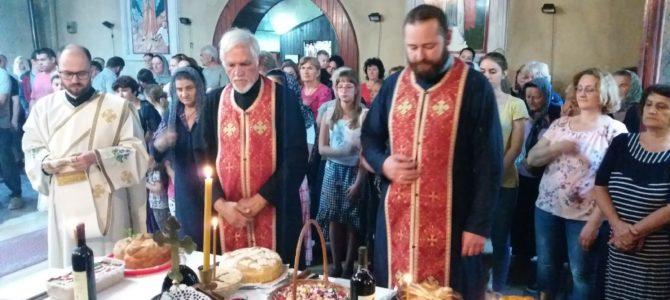 "Преподобни Сисоје Велики,  храмовна слава ""старог храма""  у Новој Пазови"