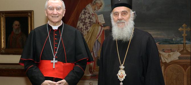 Патријарх српски примио државног секретара Ватикана
