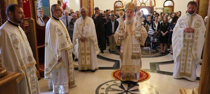 Патријарх Иринеј служио у Цркви Светог великомучника и кнеза српског Лазара на Звездари