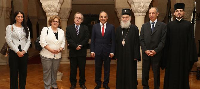 Председник Представничког дома Кипра код Патријарха