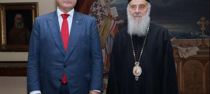 Патријарх српски примио Председника Украјине