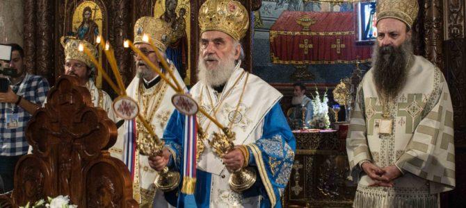 Патријарх освештао храм Светог Саве у Мркоњић Граду
