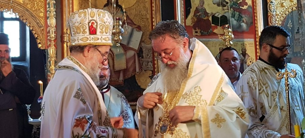 Преподобна мати Ангелина литургијски прослављена у манастиру Крушедол