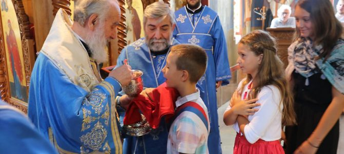 Патријарашка Литургија у цркви Свете Петке на Чукарици