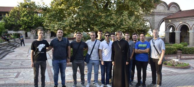 Ученици Богословија на летовању у Грчкој