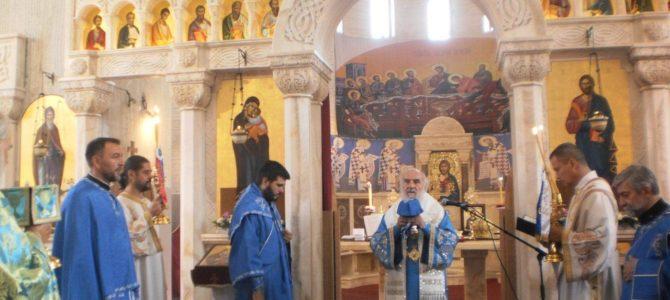Патријарх српски Иринеј служио у цркви Светог Симеона Мироточивог