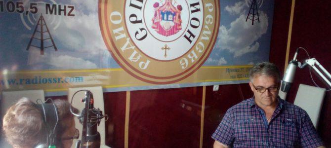 ИМАМО ГОСТА: начелник одељења за ванредне ситуације у Сремској Митровици Стеван Пејић