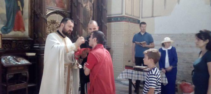 Мала Госпојина у храму Силаска Светог Духа на апостоле у Руми