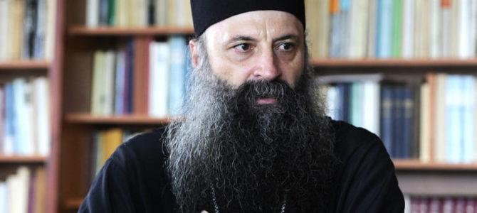 Интервју митрополита Порфирија за РТРС
