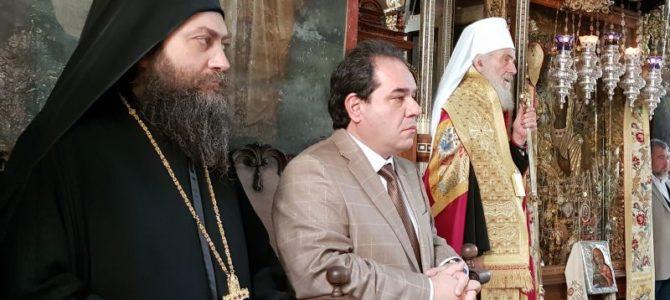 Патријарх Иринеј у српској царској лаври – Хиландару
