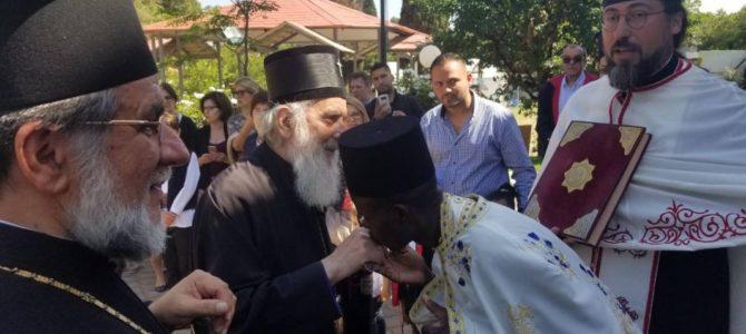 Патријарх српски Иринеј стигао у Јоханесбург