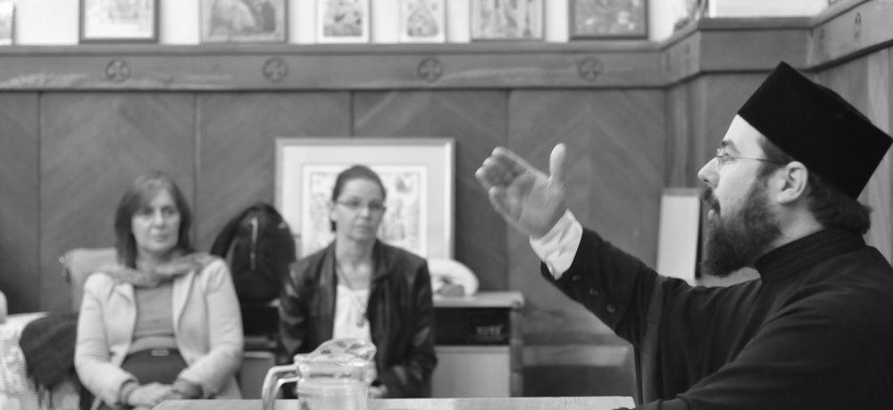 Предавање оца Клеопе у Вазнесењској цркви у Београду