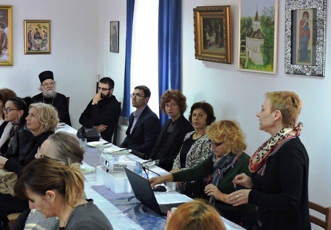 Епископ сремски г. Василије благословио рад стручног скупа у манастиру Мала Ремета