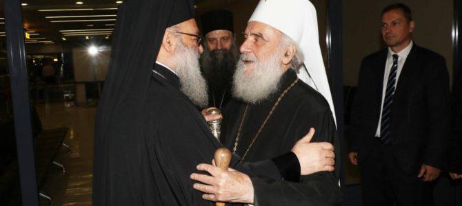 Историјска посета: Његово Блаженство Патријарх антиохијски и свега Истока г. Јован стигао у Београд