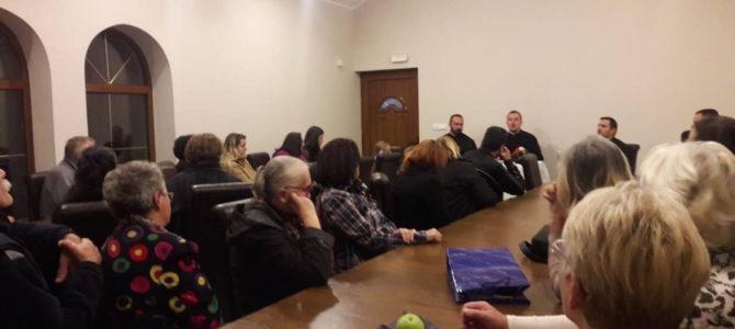 Одржано предавање о Светој Литургији у Угриновцима