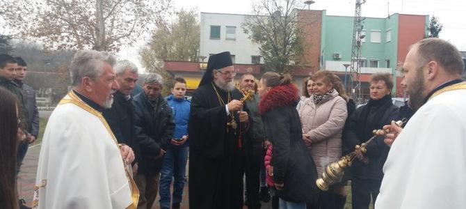 Освећење цркве Светих апостола Петра и Павла у Соту