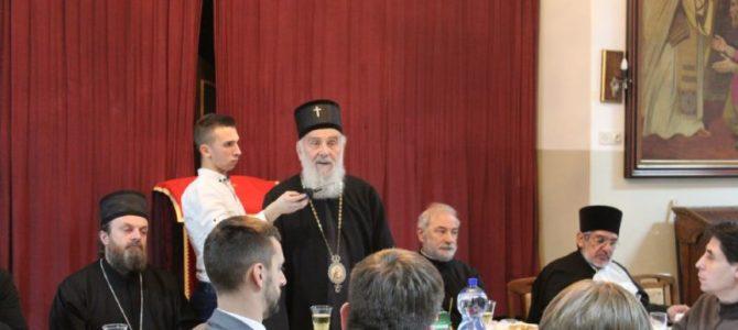 """Патријарх Иринеј богословима: """"Богословље је живот""""!"""