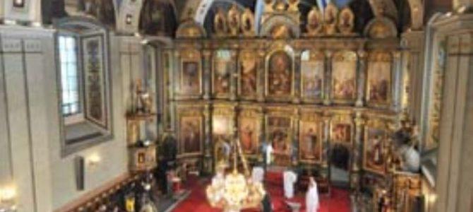 Патријарх Иринеј у Саборној цркви на славопоју Богу и Светом Нектарију