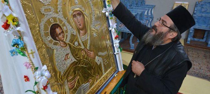 Хиландарска икона Пресвете Богородице Тројеручице у манастиру Бешеново