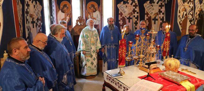 Величанствена прослава у храму Свете Петке на Чукарици