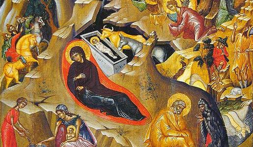 Божићна честитка хришћанима који Божић славе по новом календару