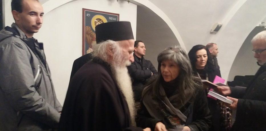 Архимандрит Стефан одржао предавање о Божићу у Храму Светог Марка