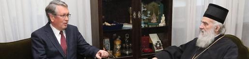 Патријарх Иринеј примио амбасадора Руске Федерације