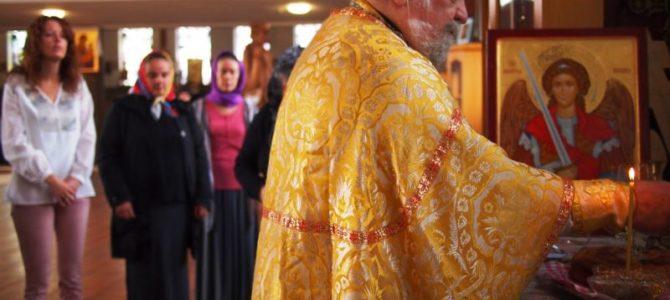 Прота Војо Билбија на Ваведење у Вазнесењској