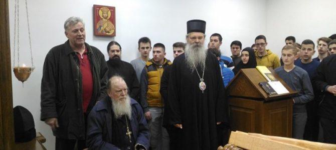 Чудотворни крст из Русије стигао на Косово и Метохију