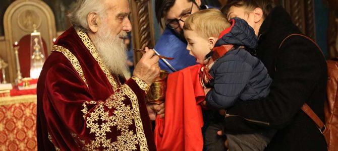 Патријарх Иринеј богослужио у Вождовачком храму