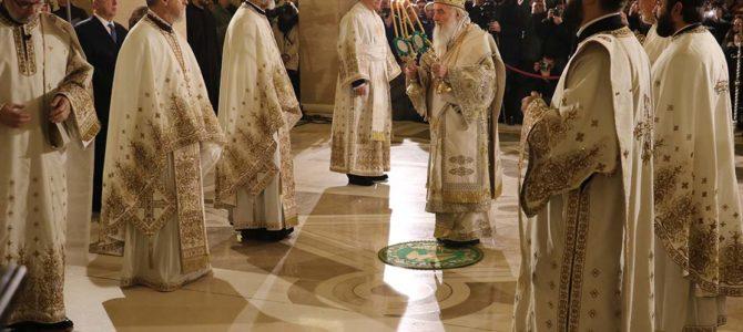 Патријарашка Божићна Литургија у храму Светог Саве