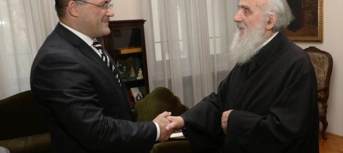 Патријарх примио Амбасадора Србије у Јужноафричкој Републици