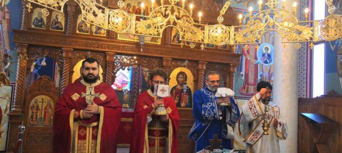 БОЖИЋ  У ХРАМУ СВЕТОГ ЦАРА КОНСТАНТИНА И ЦАРИЦЕ ЈЕЛЕНЕ У ИНЂИЈИ