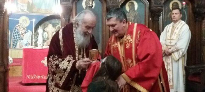 Патријарх Иринеј: Угледајмо се на животе сва три Светитеља!