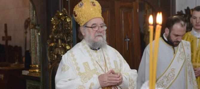 НАЈАВА: Његово Преосвештенство Епископ сремски Василије у манастиру Привина глава