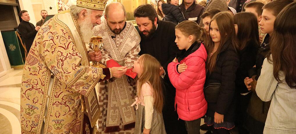 Недеља Православља у храму Светог Саве