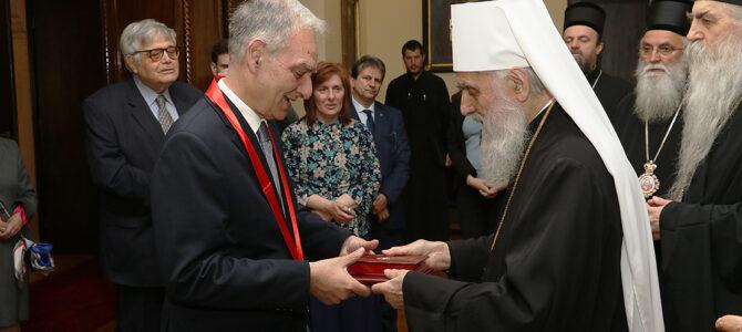 Орден Светог Саве амбасадору Илији Илијадису