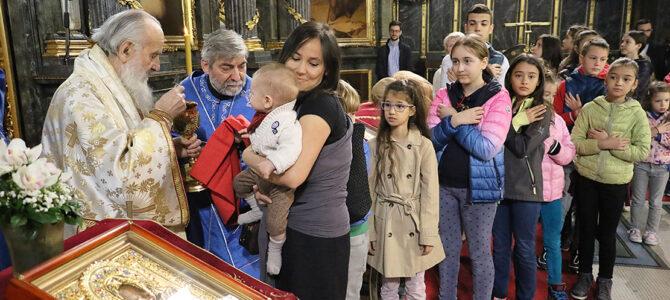 Благовести у Саборном храму у Београду