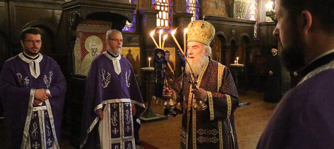 Литургијско сабрање у капели Патријаршије српске