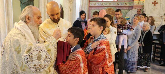 Васкрсни понедељак у цркви Светог Александра Невског