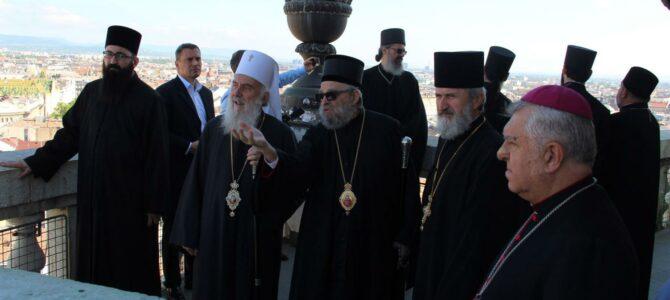 Патријарх посетио базилику Светог Стефана и Амбасаду