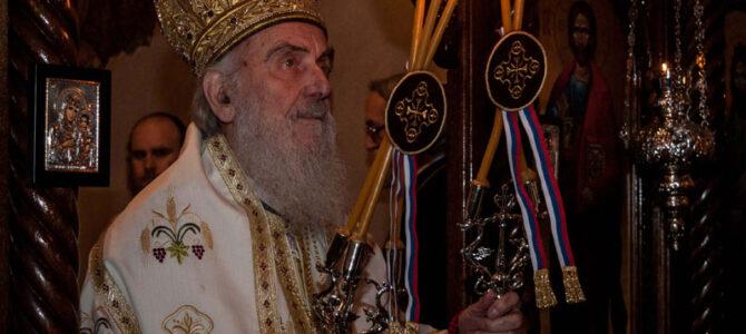 Патријарх српски после два века у манастиру Гомионици