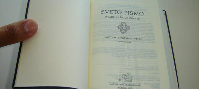 Словеначки преводи Светог Писма