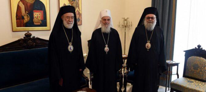 Патријарх Иринеј у Бејруту