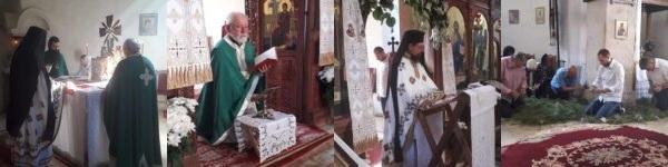 Празник Духови и припреме за Петровски пост у манастиру Раковцу