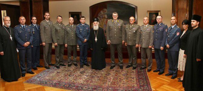 Патријарх примио официре Министарства одбране
